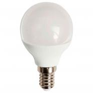 Лампа LED, тип «Шар» Е14 6Вт Теплый